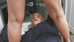 Perverser Doktor mit Hardcore-Sex im Krankenhaus